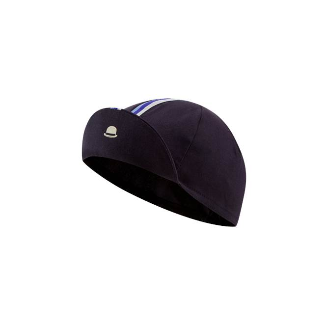 Chapeau Cotton Cap Deep Ocean Striped