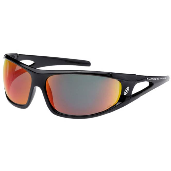 Northwave Freetime Black - Multi-Layered Red Lens